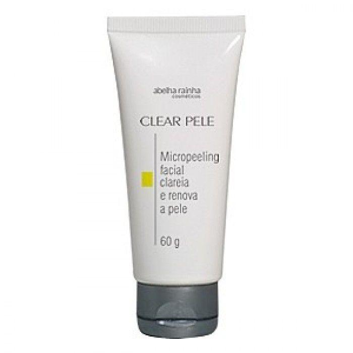 Creme Esfoliação Micropeeling Facial Abelha Rainha 60g