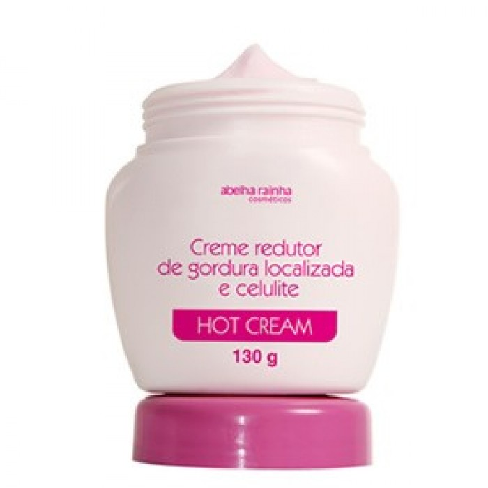 Creme Redutor De Gordura Localizada Hot Cream Abelha Rainha