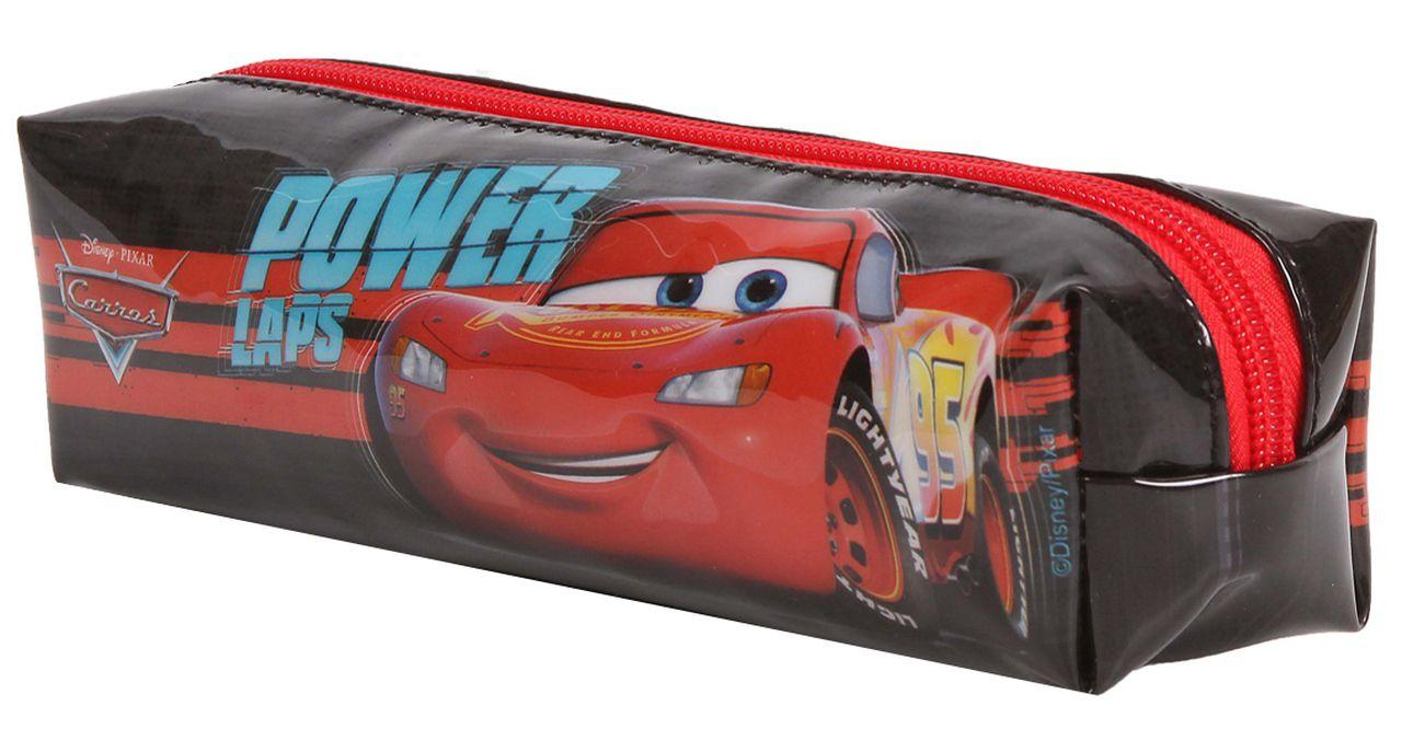 Estojo Escolar Carros Stickers Infantil Menino Resistente Dermiwil