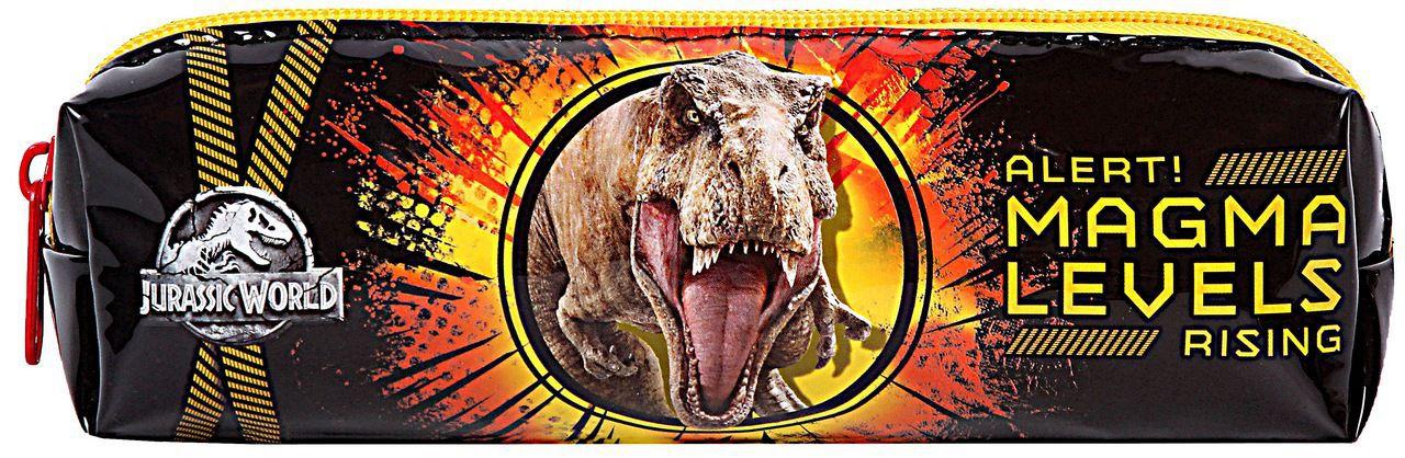 Estojo Escolar Infantil Menino Jurassic World Resistente Dermiwil