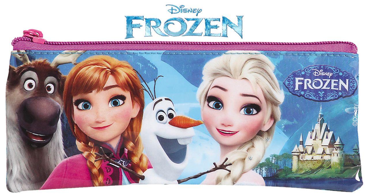Estojo Escolar Infantil Resistente Menina Frozen Dermiwil