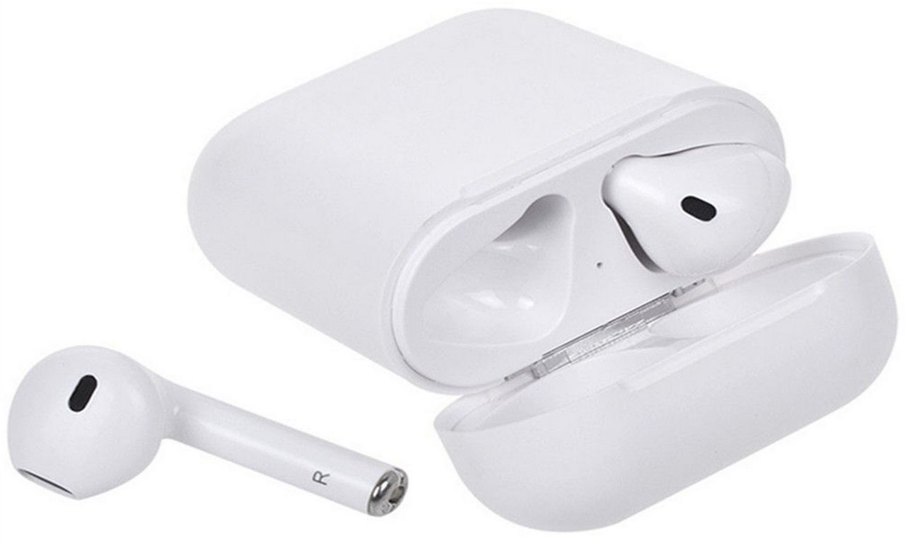Fone De Ouvido Bluetooth 5.0 Sem Fio Recarregável Microfone Atende Ligação Android Apple AirPods Base Carregadora Touch i11 Tws Original