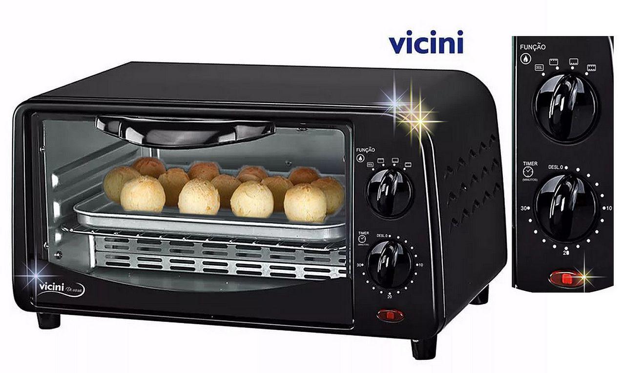 Forno Elétrico 9 Litros Vicini  EPV 8009 - 110V