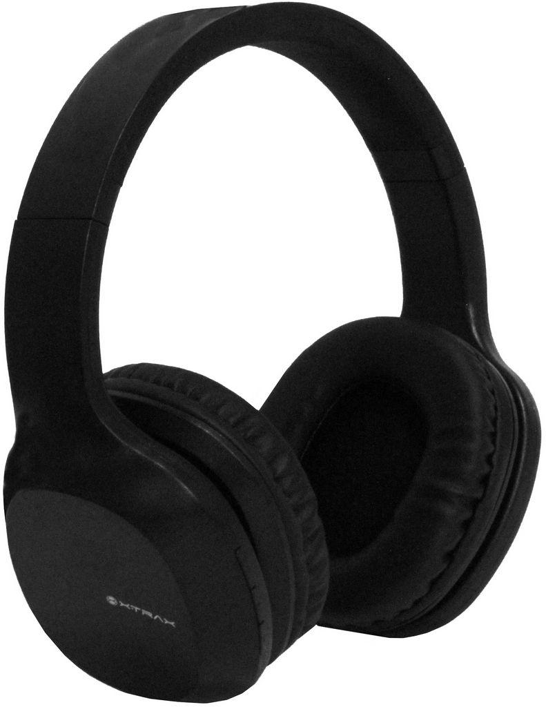 Headphone Bluetooth Groove Fone De Ouvido Sem Fio Preto 7 Horas Reprodução Microfone Embutido Acolchoado Xtrax
