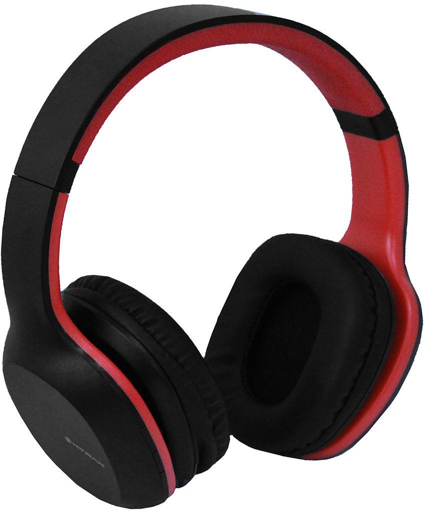 Headphone Bluetooth Groove Fone De Ouvido Sem Fio Vermelho 7 Horas Reprodução Microfone Embutido Acolchoado Xtrax Novo