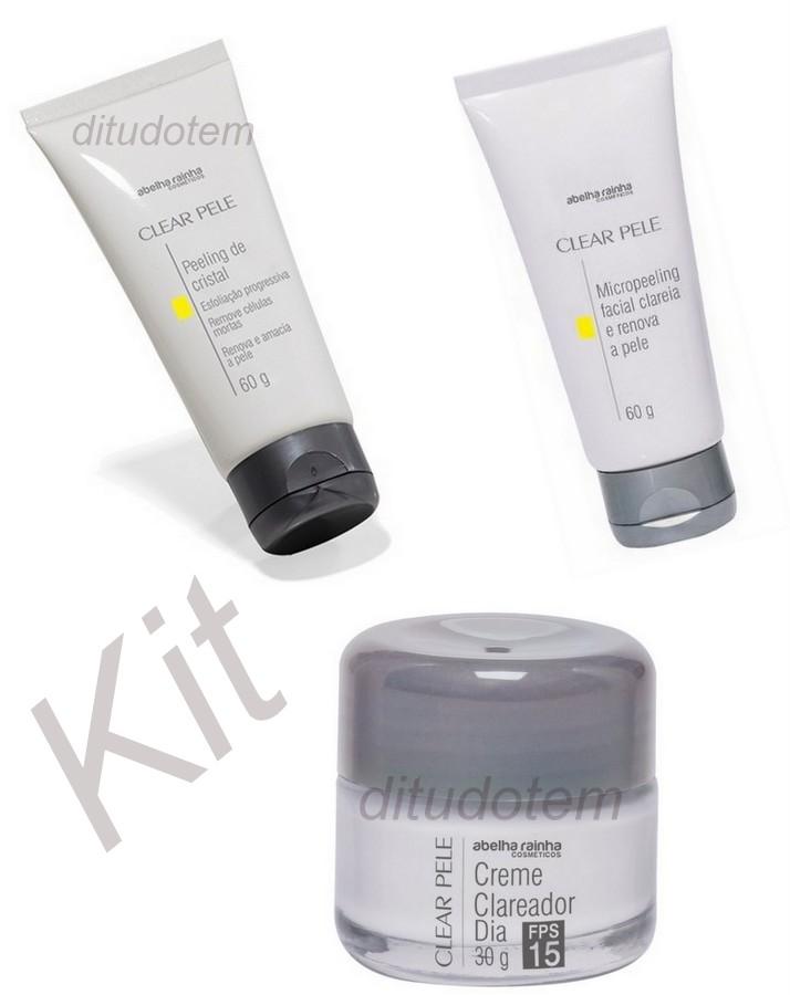 Kit Clear Pele + Peeling + Micropeeling - Abelha Rainha