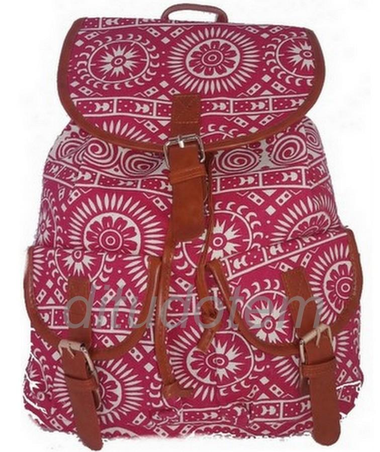 Kit Com 10 Mochilas Femininas