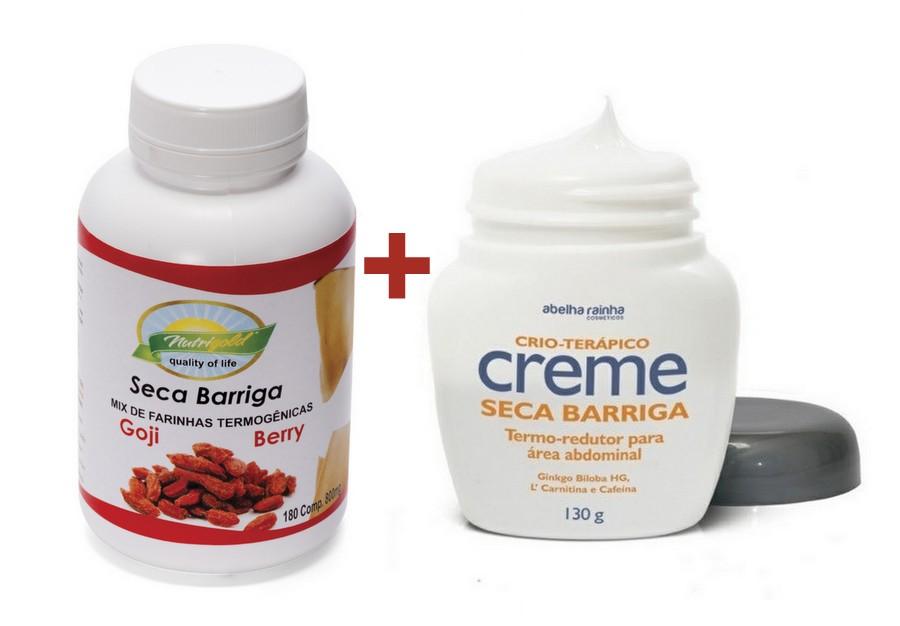 Kit Creme Seca Barriga + Seca Barriga em cápsula