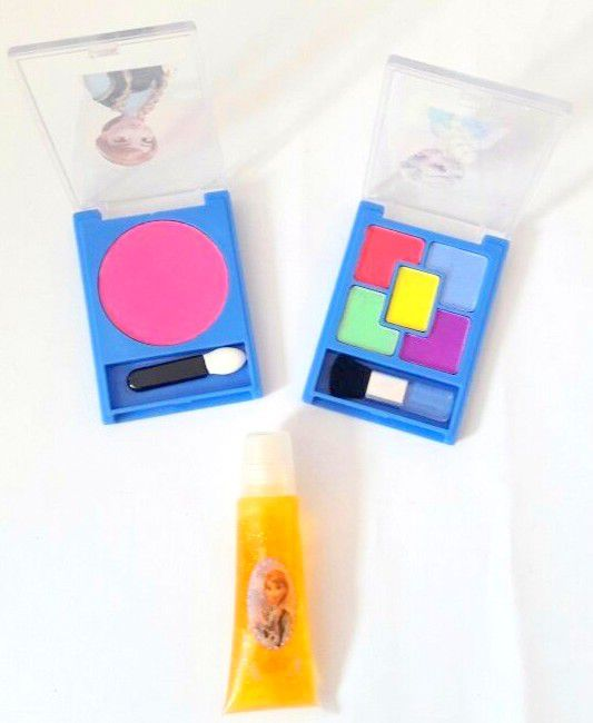 Kit Maquiagem Frozen E Ana Brinquedo Infantil