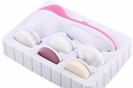 Kit Massageador Facial + Micropeeling de Cristal