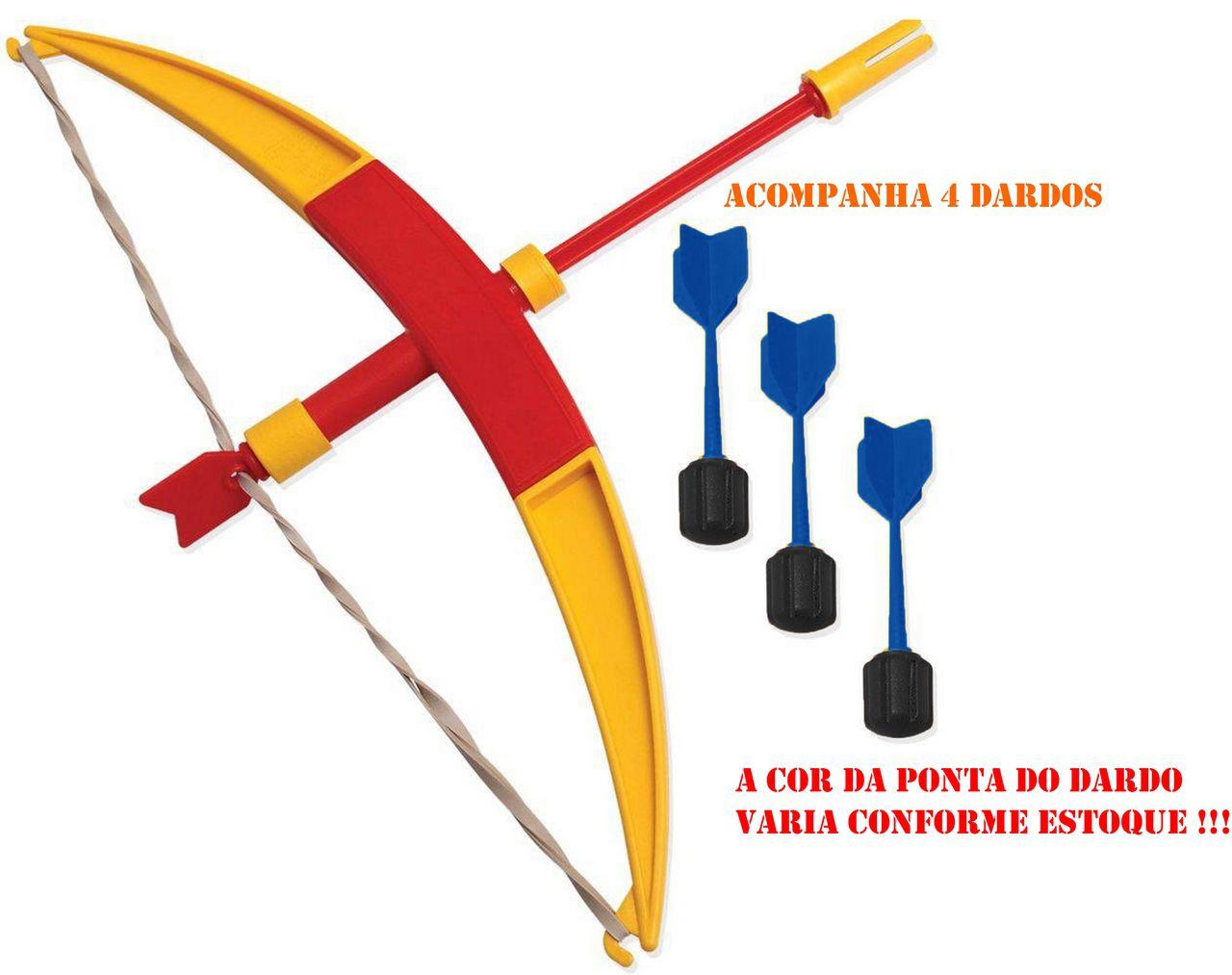 Lançador Arco E Dardos Infantil Meninos Bolhas De Sabão Divertido Mira Alvos Brinquedo Lançamento Elka Novo
