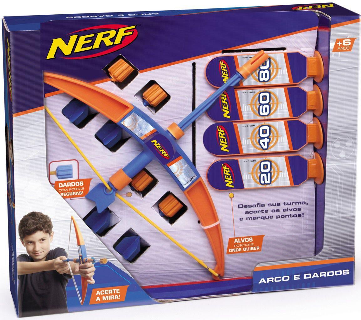 Lançador Nerf Arco E Dardos Infantil Bolhas De Sabão Meninos Divertido Mira Alvos Brinquedo Lançamento Elka Novo