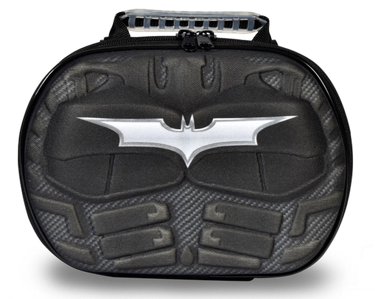 Lancheira Escolar Infantil Meninos Batman Maxtoy 3D