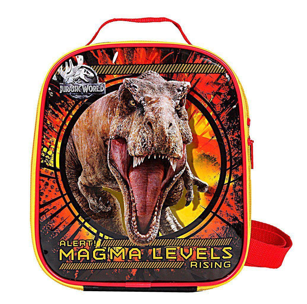 Lancheira Escolar Térmica Infantil Menino Jurassic World Resistente Dermiwil