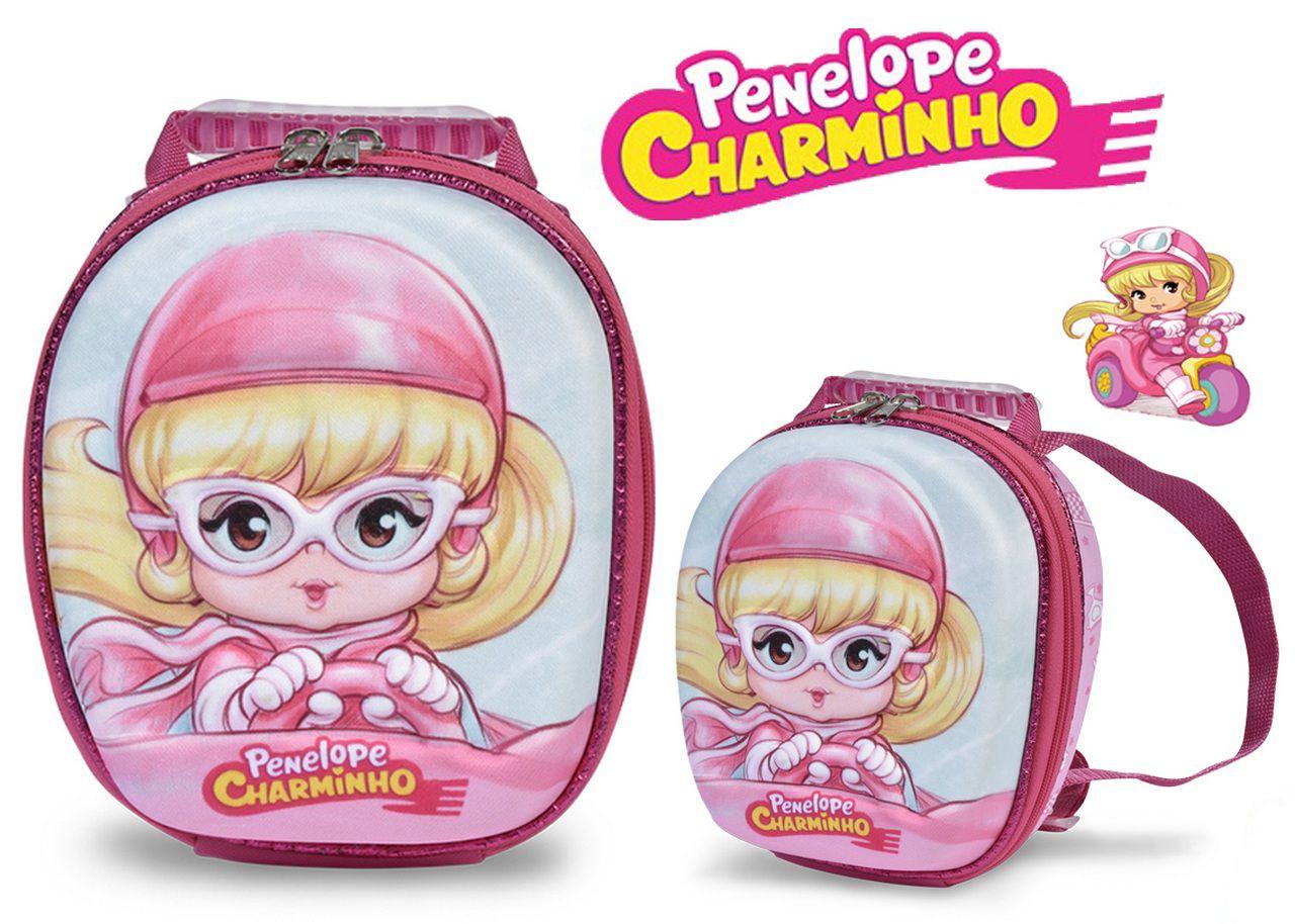 Lancheira Escolar Penelope Charminho Maxtoy Infantil Menina
