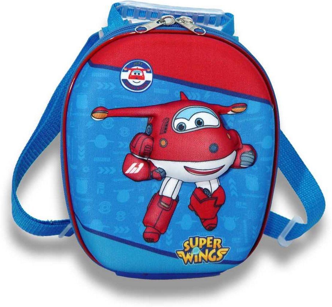 Lancheira Escolar Infantil Meninos Super Wings Maxtoy