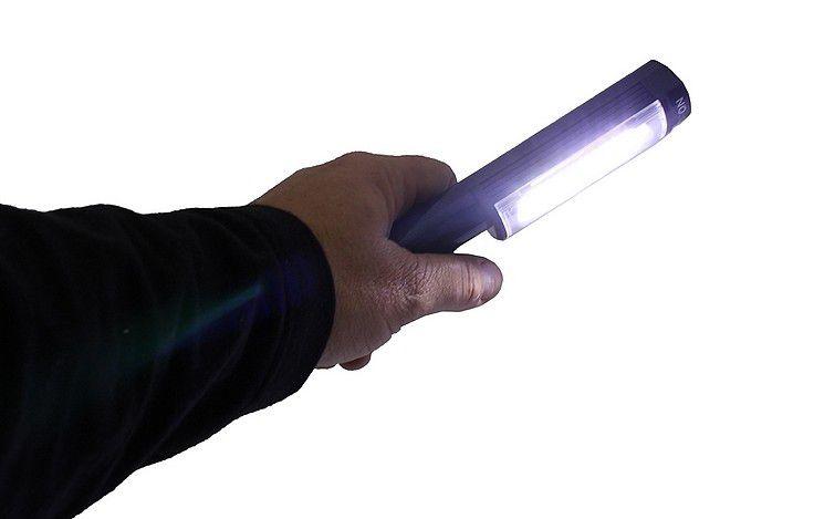 Lanterna Potente Tatica 16 Led Q5 Com Sinalizado Sos