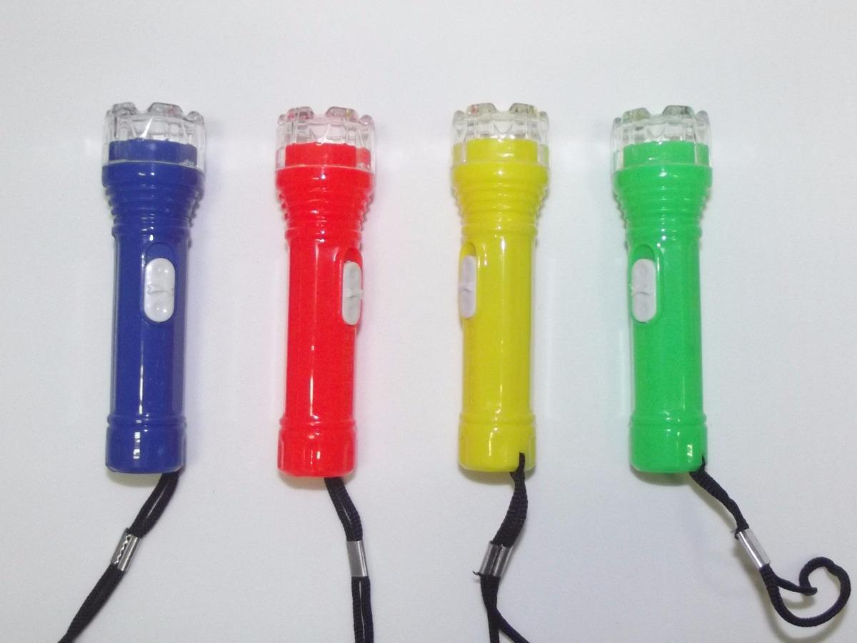 Kit 12 Lanternas Mini de Led Chaveiro