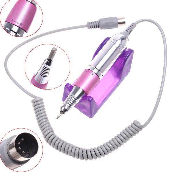 Lixa Elétrica Lina com Pedal para Unhas de Porcelana, Gel ou Acrygel