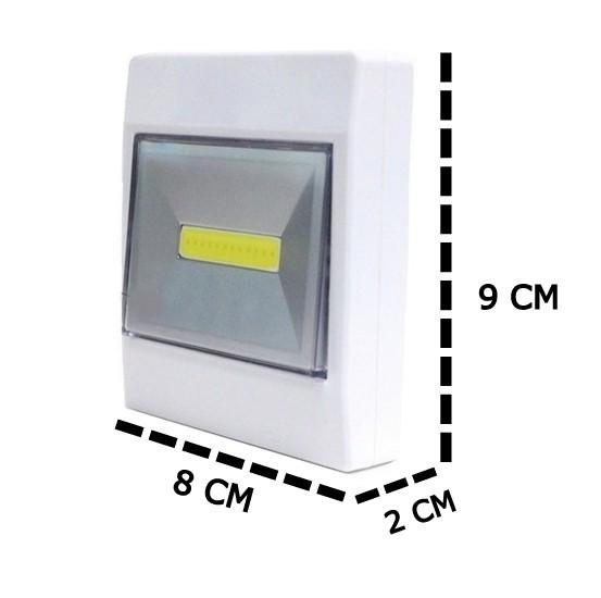 Luminária Para Armários  Portátil Cob Led 2W Multifuncional
