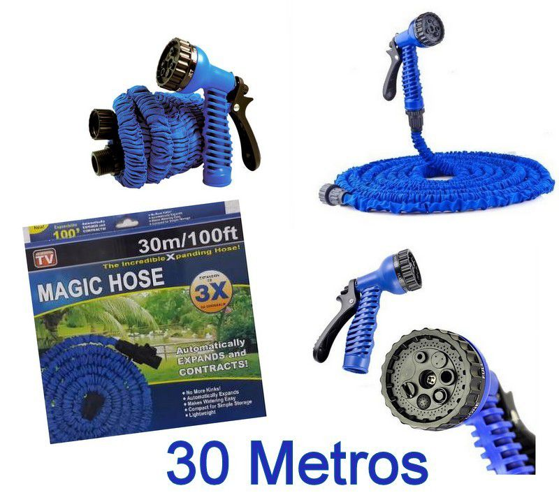 Mangueira Mágica Expansível Flexível  Elástica 30 Metros
