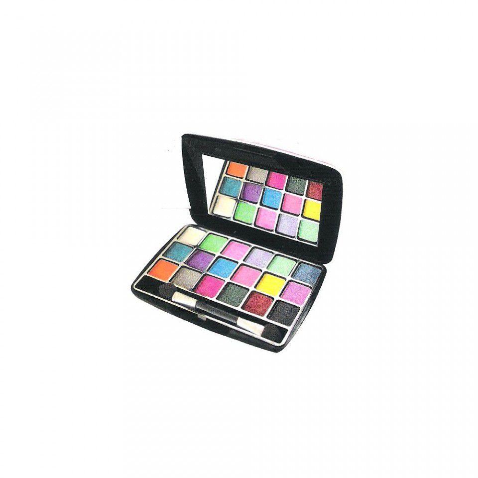 Maquiagem Paleta de Sombra 3D Cintilante Jasmyne