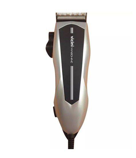 51ef4bd77 ... Maquina Cortar Cabelo Barba Profissional Acessórios 9 Peças Vicini - CPV -625 - Ditudotem