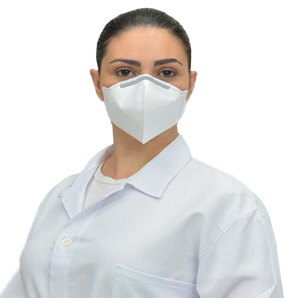 Mascara N95 Descartável Cirurgica Protecao Respiratória Hospitalar 5 Unidades Protetora Facial Ksn Lançamento Branco Novo