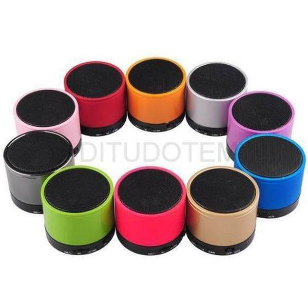 Mini Caixa de Som Bluetooth MP3 FM SD USB P2 - Mini Music Box