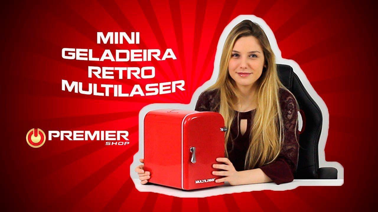Mini Geladeira Retrô Trivolt (12v/110v/220v) Multilaser Vermelha