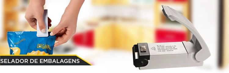 Mini Maquina Seladora para Embalagem Plastica Portatil A Pilha