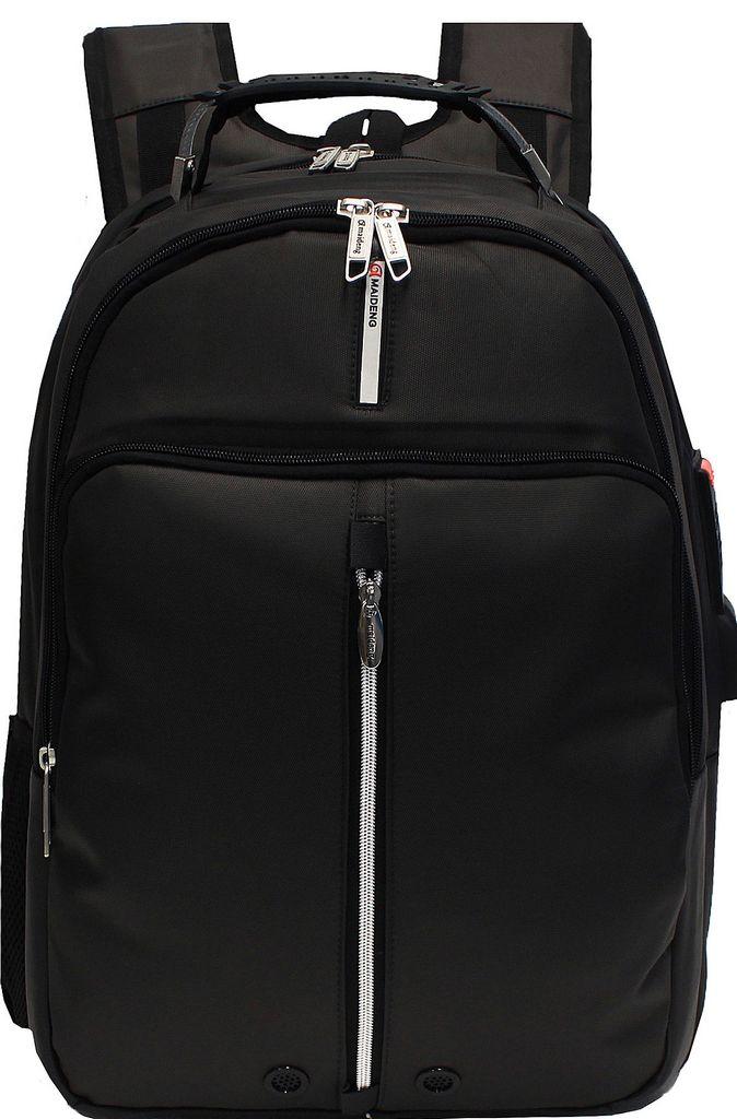 Mochila Executiva Notebook Tablet Masculino Impermeável Costas Saída Fone E USB