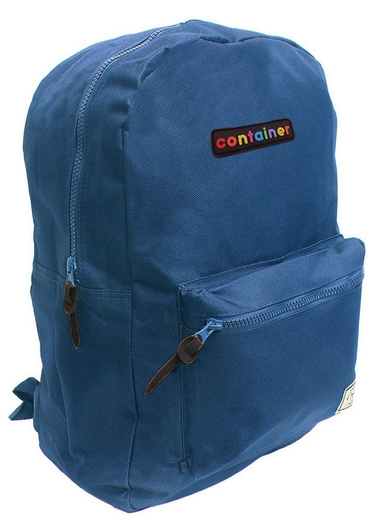 Mochila Escolar G Container Medium Blue Juvenil Masculina Feminina Dermiwil