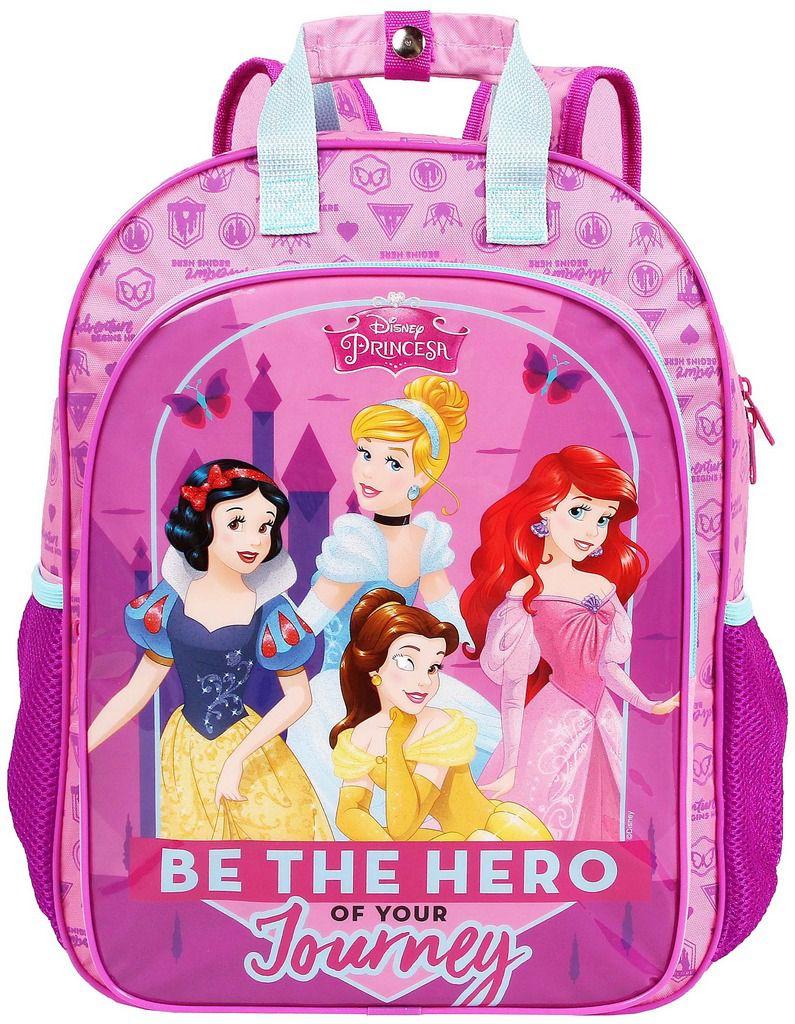 aa387f4b5 Mochila Escolar G Costas Princesas Infantil Menina Rosa Resistente Dermiwil  - Ditudotem ...