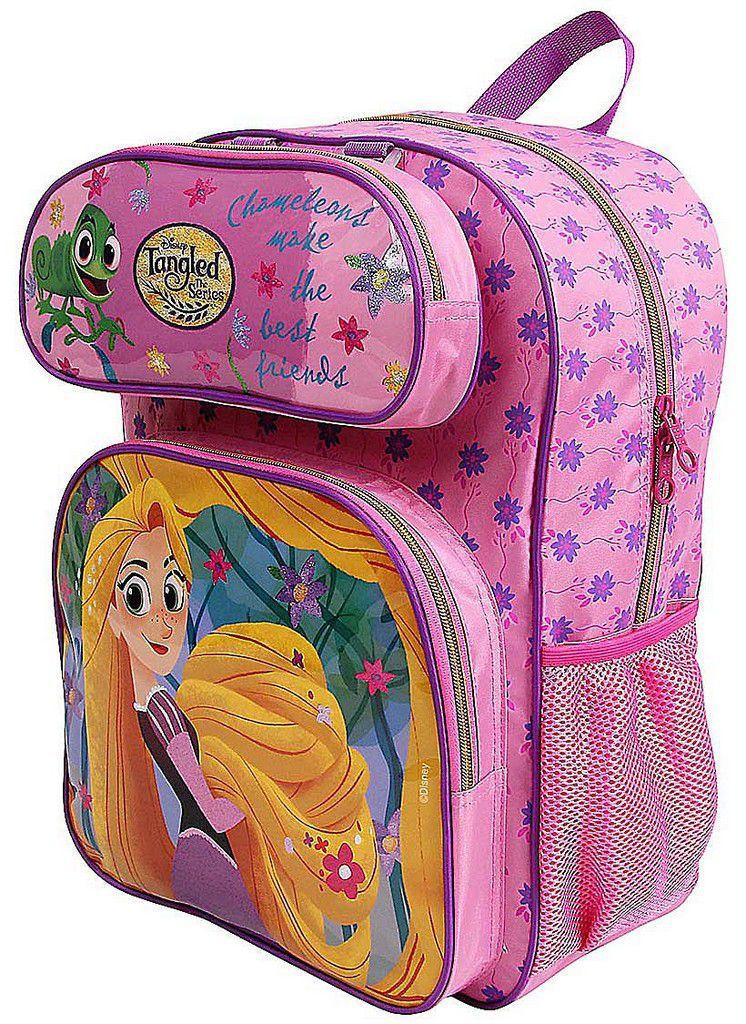 cab114881 ... Mochila Escolar Rapunzel Costas Infantil Menina Estojo Resistente  Dermiwil - Ditudotem ...