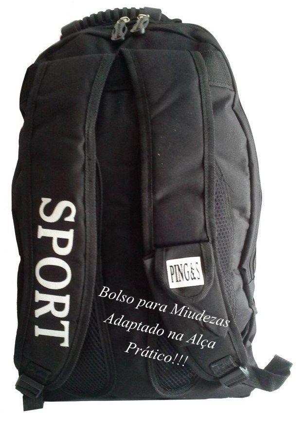 Mochila Esportiva Grande Resistente 28L