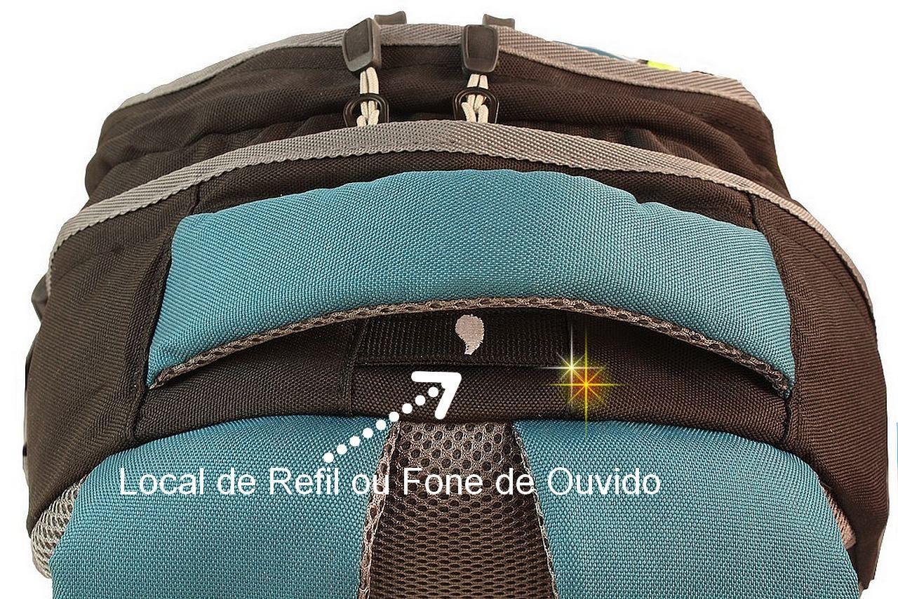 Mochila Bolsa Hidratação Impermeável Notebook Esportiva Resistente