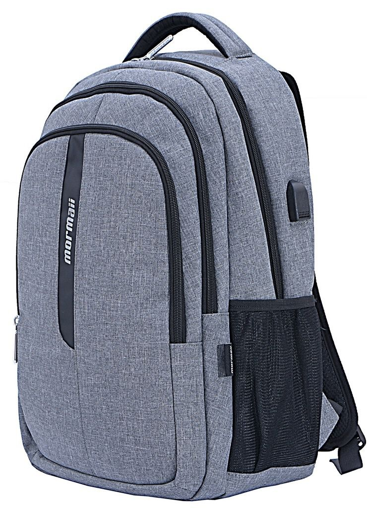 Mochila Executiva Notebook15,6 USB Masculina Nylon Mormaii Santino Original