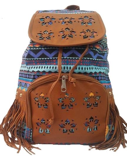 Bolsa Mochila Feminina Juvenil Lona Escolar Universitária : Bolsa mochila feminina borboleta lona escolar