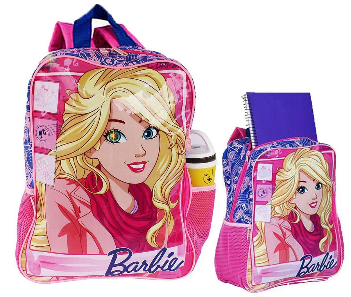 cf0985ec7 Mochila Infantil Escolar Rosa Grande Barbie Infantil Menina Sestini -  Ditudotem ...