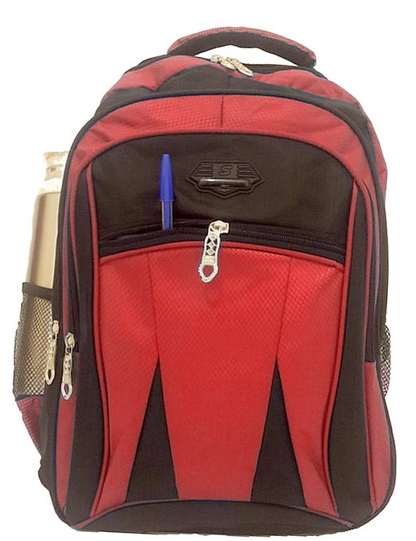 Mochila Masculina Resistente Escolar Notebook PVC Nylon