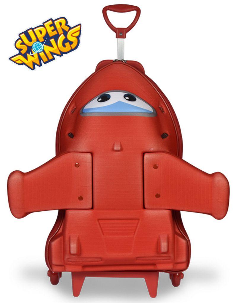 Mochilete Escolar Super Wings Robo Carrinho MAXTOY