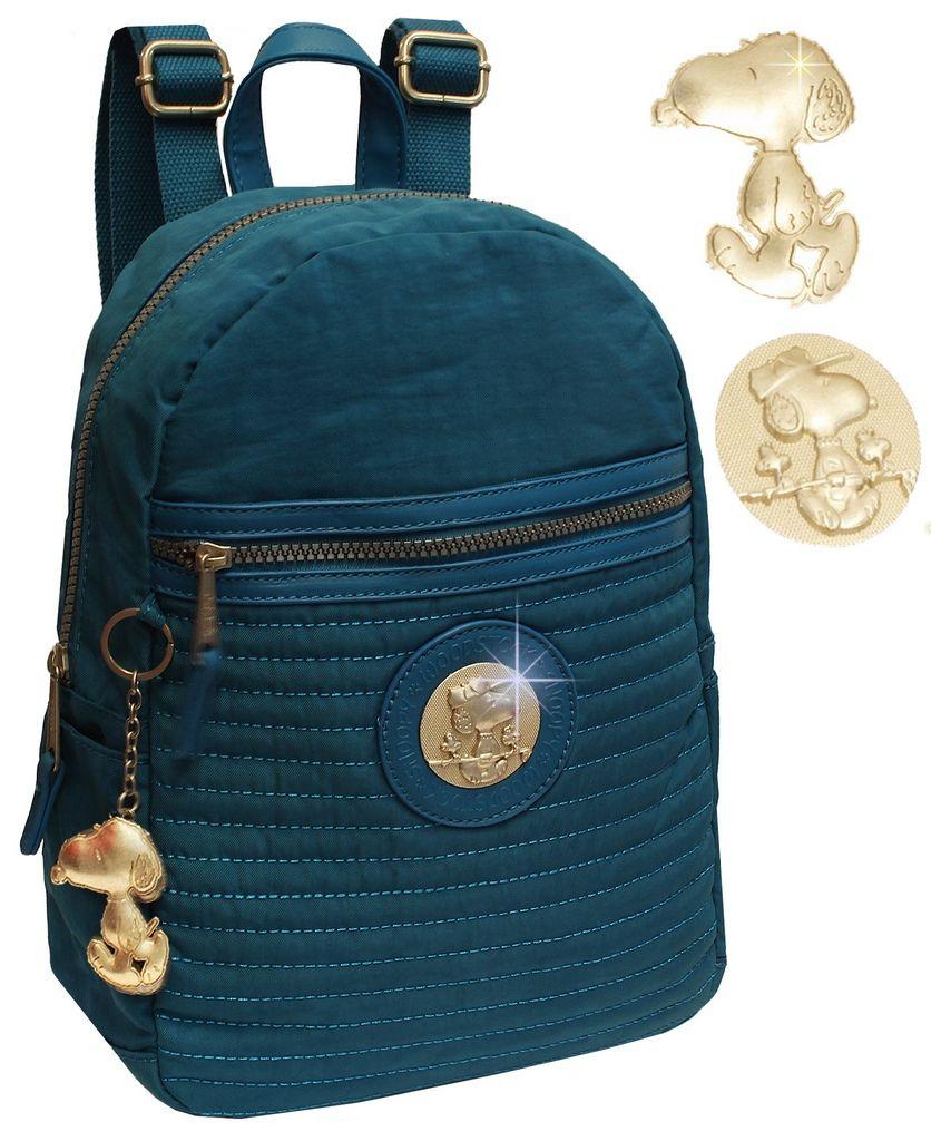 8f9d90141 Ditudotem Mochilinha Feminina Snoopy Semax SP4804AZ Bolsa Azul