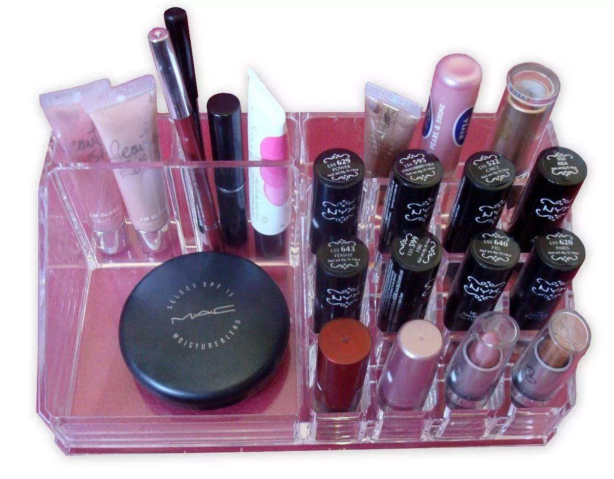 Organizador Maquiagem Cosmeticos Bijouteria Joias Espaços