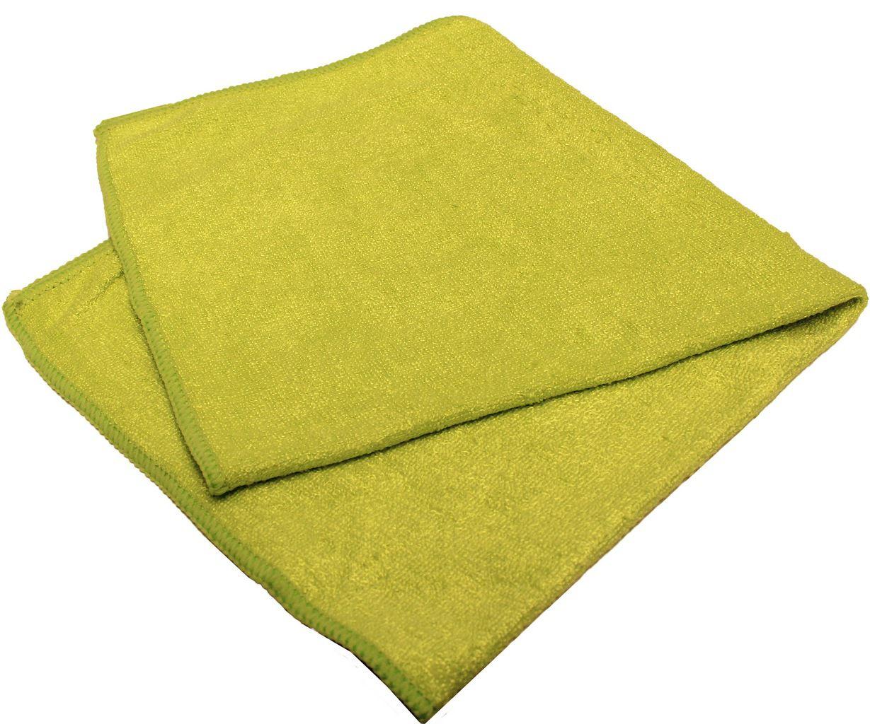 Pano Multiuso Limpeza Flanela Verde Perfect