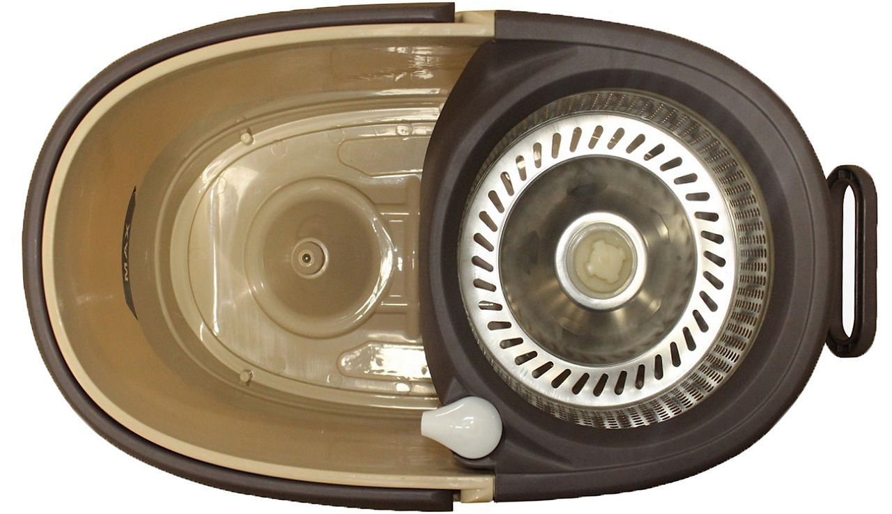 Balde Esfregão Mop Centrifuga Alumínio 360° Refil Limpeza Original Perfect