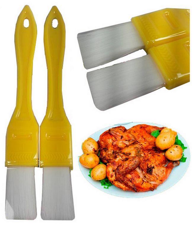 Pincel Culinário em Silicone - Pincel para Alimentos