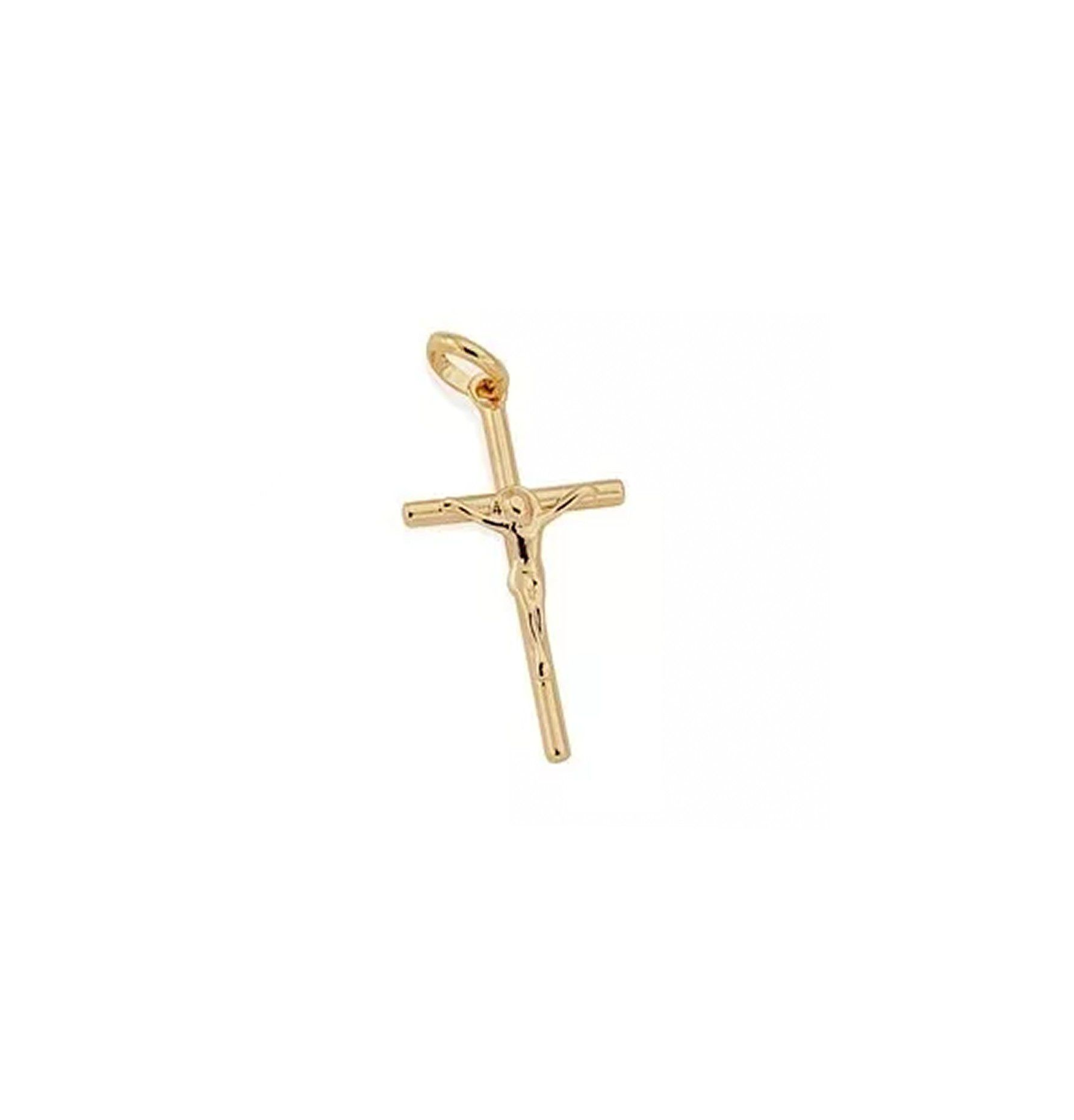 Pingente Rommanel Crucifixo 2,3cm F Ouro 18K 540003