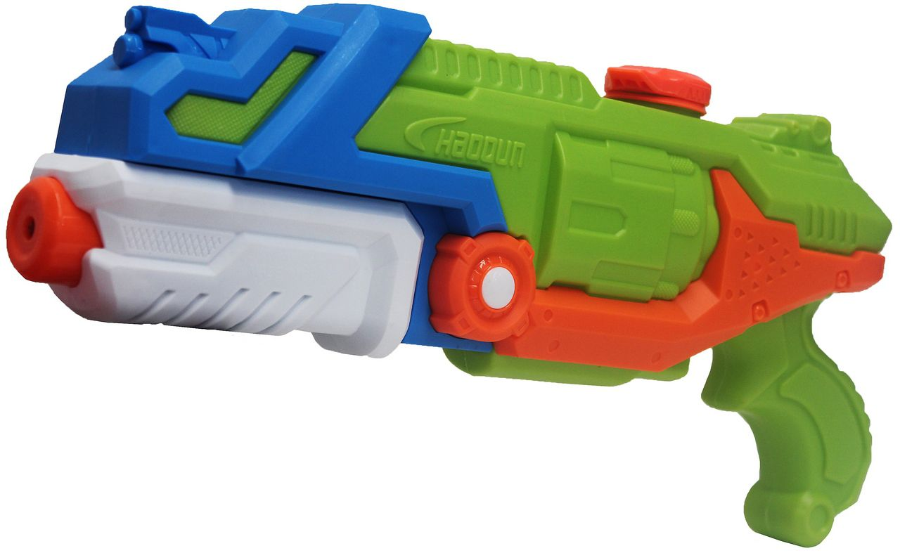 Pistola Lança Água Water Gun Master Brinquedo Infantil Menino Longo Alcance +8 Anos Diversão 35 cm Zoop Toys Original