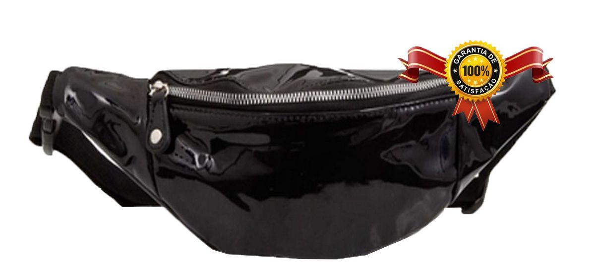 Pochete Bolsa Transversal Cintura Feminina Grande Tiracolo Impermeável Zíper  Resistente  Pagani Semax Original